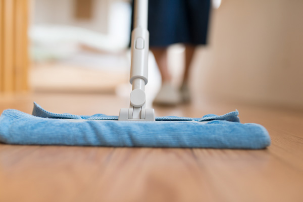 余った生地をお掃除道具としても活用できる!