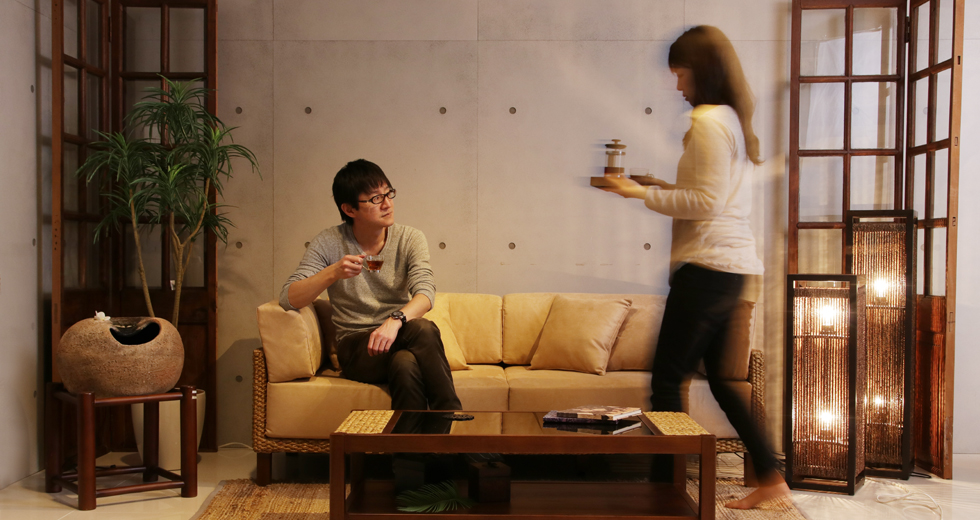アジアンソファー chai(チャイ) ― リゾートで過ごすひと時を自宅で味わう贅沢