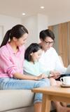 2017年の注目ワード「リビ充家族」リビングに家族が集うライフスタイルとは