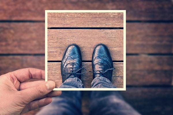 靴箱とチェキを活用したオシャレな収納アイデア