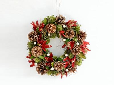 クリスマスリースNoelKH-61069_72