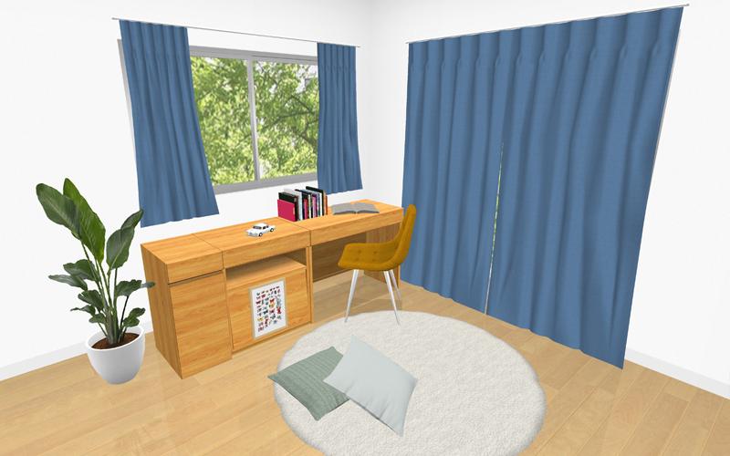 部屋別カーテンの選び方
