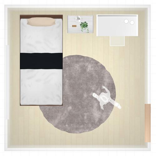 心地よい眠りのための寝室コーディネイト